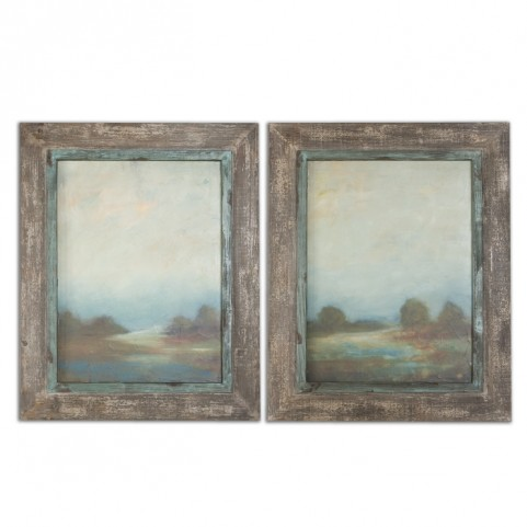 Morning Vistas Framed Art Set of 2