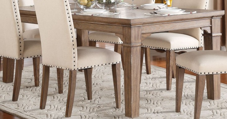 Mill Valley Weathered Wash Extendable Dining Table