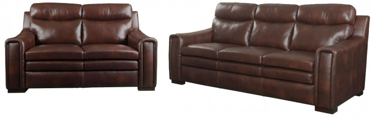 Amarillo Brown Living Room Set