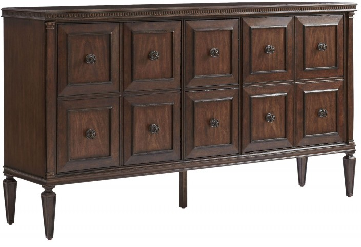 Villa Couture Mottled Walnut Marco Buffet