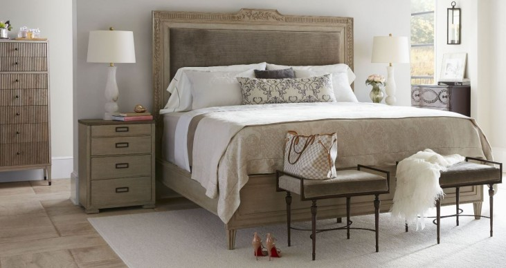 Villa Couture Alessandra Panel Upholstered Bedroom Set