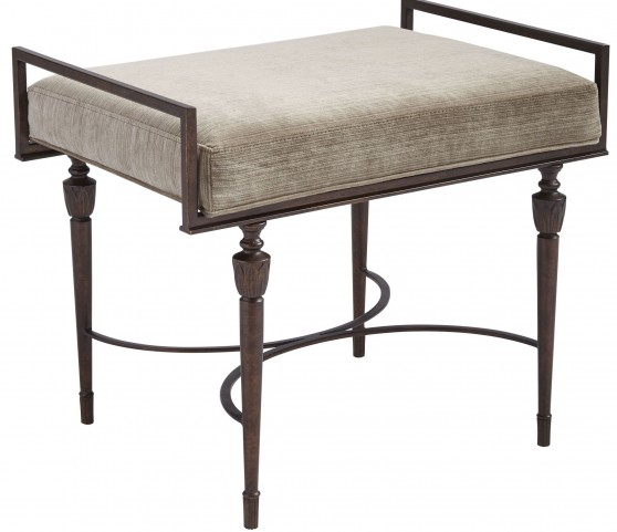 Villa Couture Antique Bronze Catarina Bed End Bench