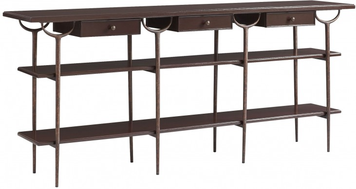 Villa Couture Pomegranate Asti Console Table