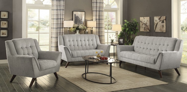 Baby Natalia Dove Gray Living Room Set