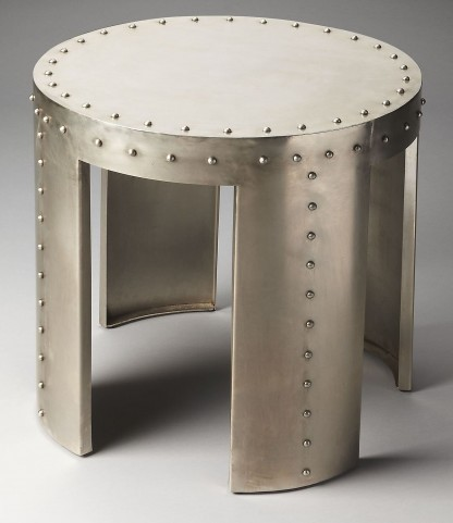 Mitchell Industrial Chic Accent Table