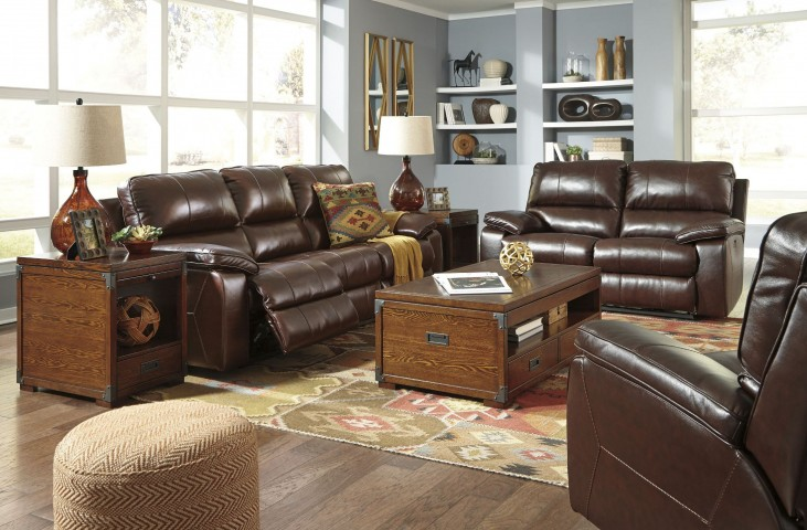 Transister Coffee Power Reclining Living Room Set