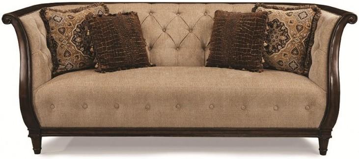 Ava Adele Tufted Back Upholstered Sofa