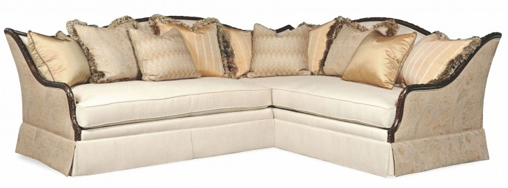 Ava Creme Sectional