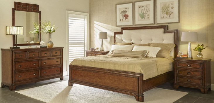Tilden Hearth Upholstered Panel Bedroom Set