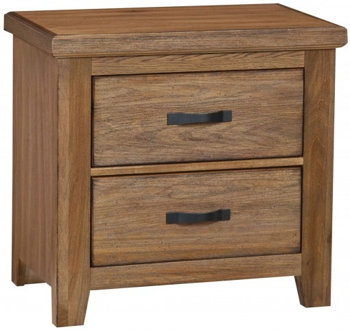 Cassel Park Natural 2 Drawer Nightstand