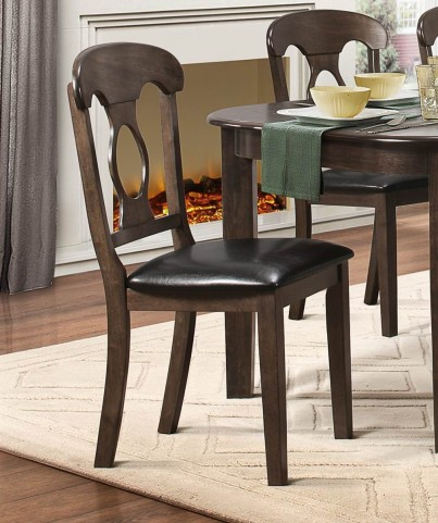 Lemoore Weathered brown Side Chair Set of 2