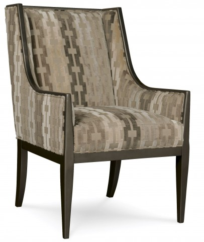 Wythe Coffee Bean Wing Chair
