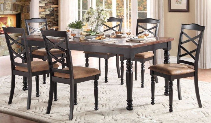 Isleton Extendable Dining Room Set