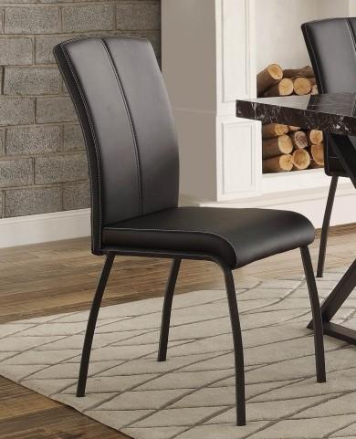 Rancho Portola Black Side Chair Set of 2