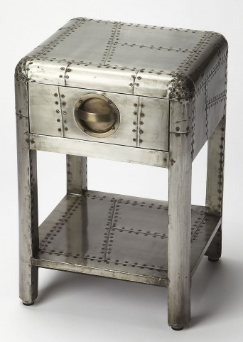 Industrial Chic Yeager Aviator Side Table