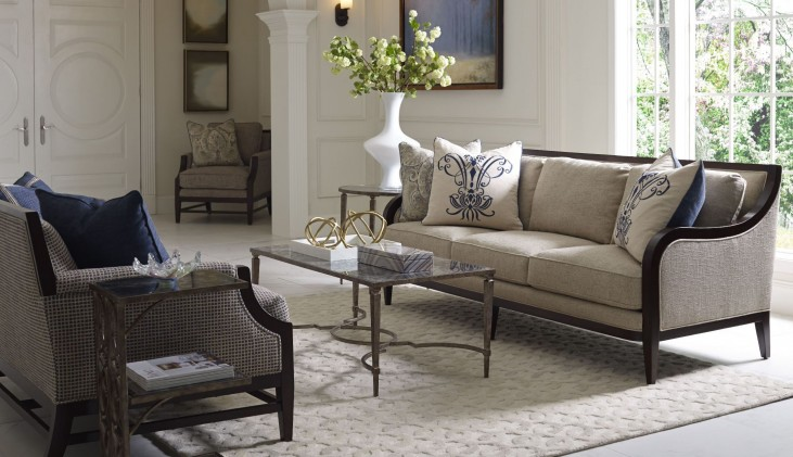 Bristol Linen Living Room Set