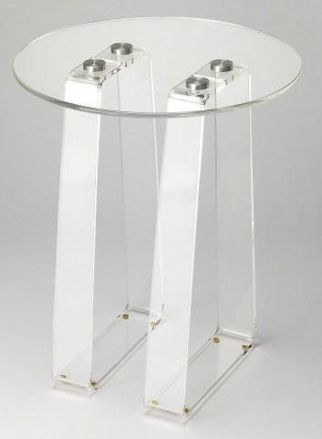 Butler Loft Blanca Clear Acrylic Side Table