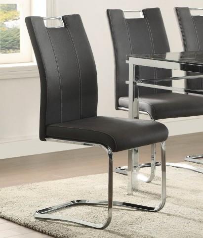 Watt Grey Side Chair Set of 2