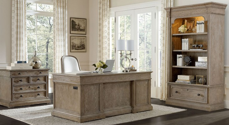Wethersfield Estate Brimfield Oak Home Office Set