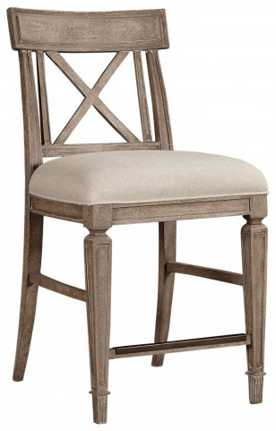 Wethersfield Estate Brimfield Oak Counter Stool