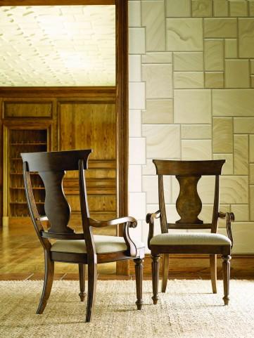 Barrington Farm Classic Splat Back Arm Chair Set of 2