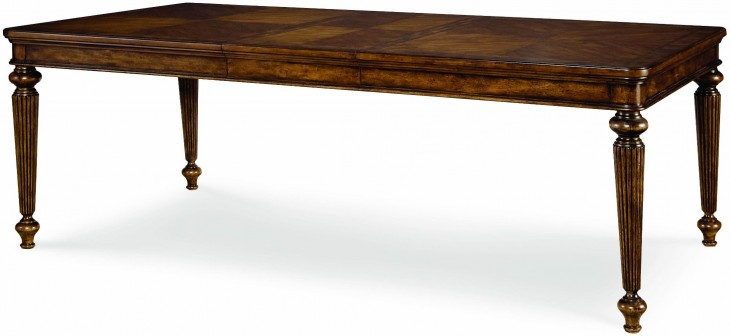 Barrington Farm Classic Extendable Rectangular Leg Dining Table