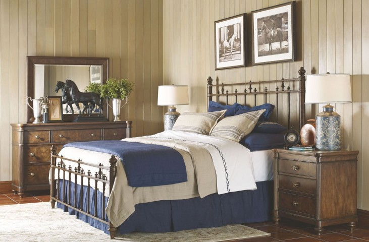 Barrington Farm Classic Metal Bedroom Set