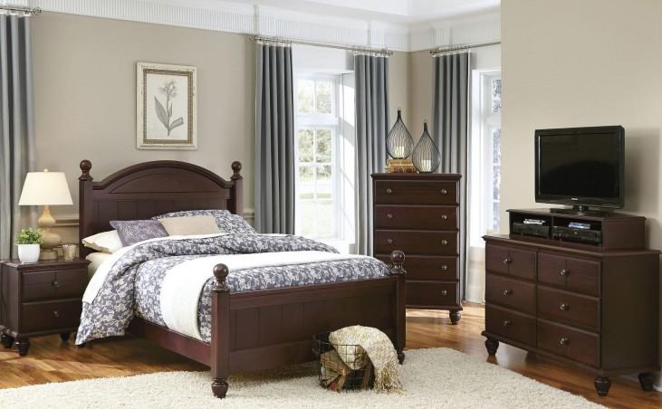 Carolina Craftsman Espresso Youth Panel Bedroom Set