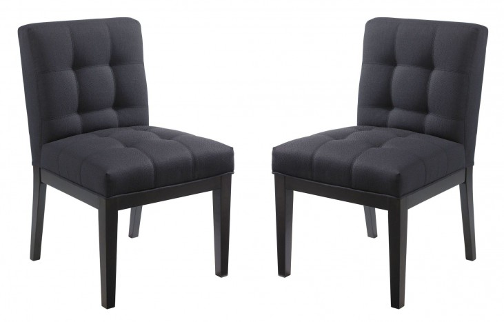 Felicia Grey Dining Chair Set of 2