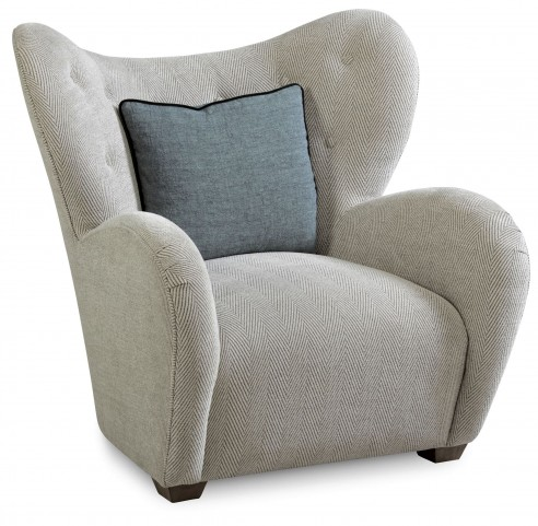 Epicenters Upholstered Levy Accent Chair