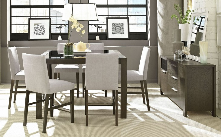 Hudson Counter Height Cafe Dining Room Set