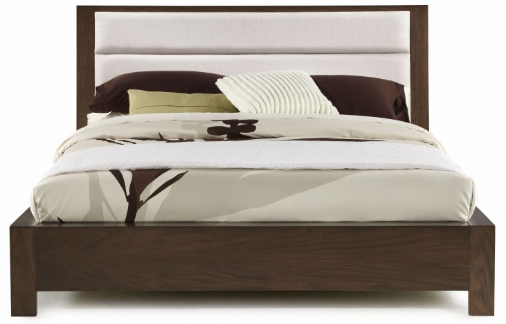 Hudson King Upholstered Platform Bed
