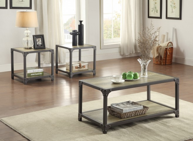 Rumi 3 Piece Occasional Table Set