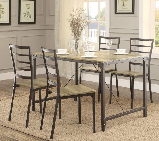 Rumi 5Pc Dinette Set