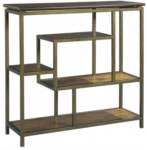Zodiac Warm Brown Acacia Tall Console Table