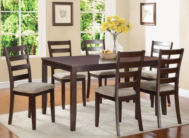 Galion Cherry 7Pc Dinette Set