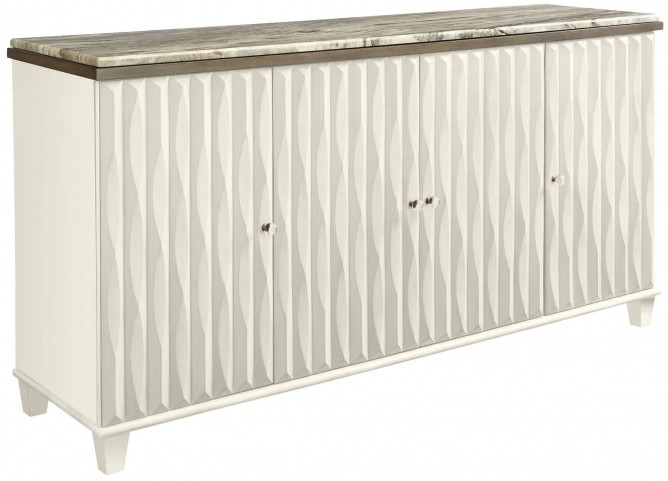 Coastal Living Oasis Saltbox White Tides Buffet