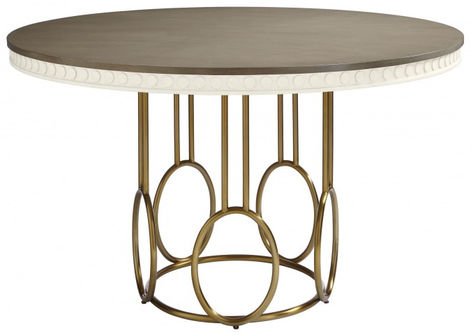 Coastal Living Oasis Saltbox White Venice Beach Round Dining Table
