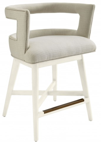 Coastal Living Oasis Saltbox White Crestwood Counter Stool