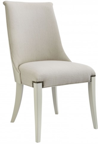 Coastal Living Oasis Saltbox White Wilshire Host Chair