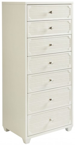 Coastal Living Oasis Saltbox White Seadrift Lingerie Chest