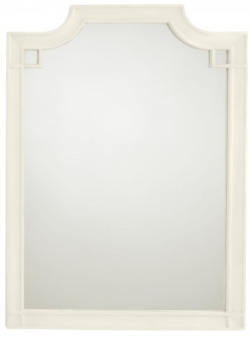 Coastal Living Oasis Saltbox White Silver Lake Vertical Mirror