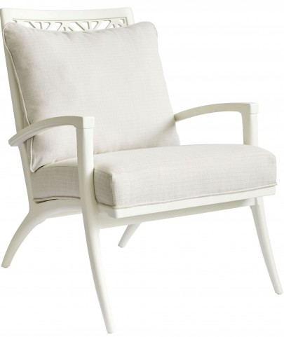 Coastal Living Oasis Saltbox White Catalina Accent Chair