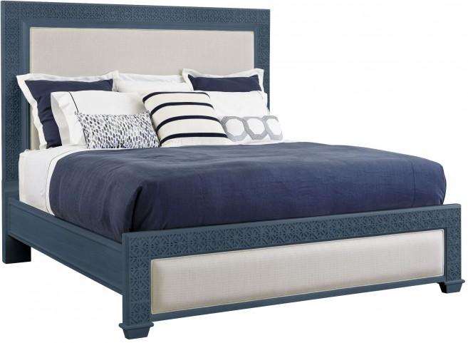 Coastal Living Oasis Cotswold Blue Queen Catalina Panel Bed