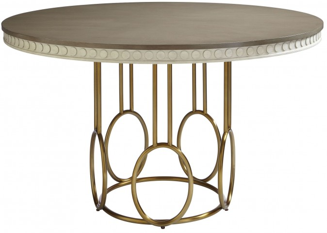 Coastal Living Oasis Oyster Venice Beach Round Dining Table