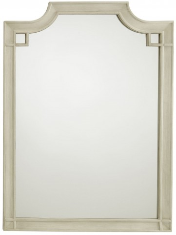 Coastal Living Oasis Oyster Silver Lake Vertical Mirror