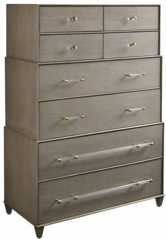 Coastal Living Oasis Grey Birch Mulholland Drawer Chest
