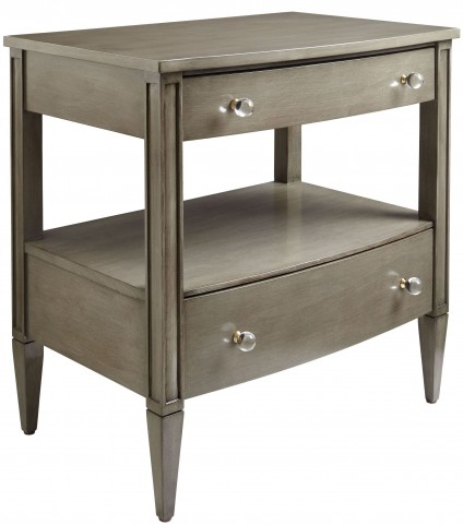 Coastal Living Oasis Grey Birch Mulholland Nightstand
