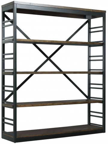 Franklin Warm Cherry Stacking Bookcase