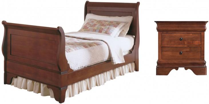 Chateau Royale Youth Sleigh Bedroom Set